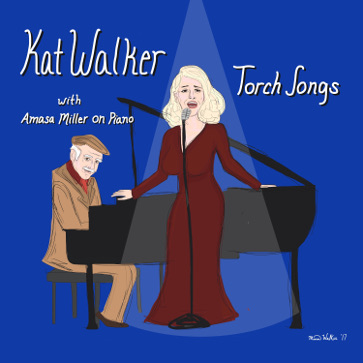 """Torch Songs"" CD Front Cover"